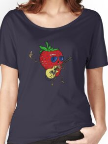 Strawberry Jam, LP-style Women's Relaxed Fit T-Shirt