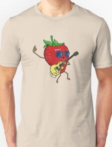 Strawberry Jam, LP-style T-Shirt