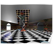 chess martini Poster