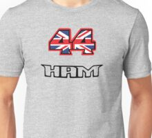 44 Brit flag HAM  Unisex T-Shirt