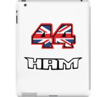 44 Brit flag HAM  iPad Case/Skin