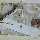 Mixed Media Collage #3 by Caren Grant