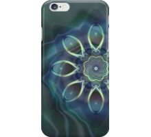 Blue Tone Fractal iPhone Case/Skin