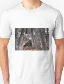 Timber Wolf in trees T-Shirt