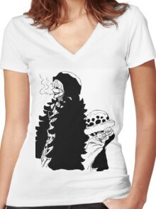 Tears for a friend Women's Fitted V-Neck T-Shirt