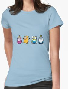 Minions Time Womens Fitted T-Shirt