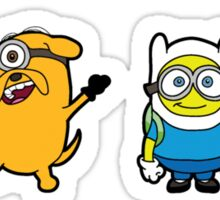Minions Time Sticker