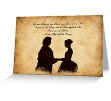the Wedding Greeting Card