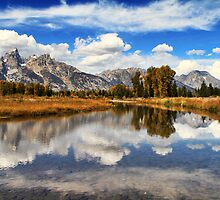 Schwabachers Landing, Jackson Hole, Wyoming. by Ann  Van Breemen