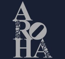 Aroha (love) to the people by clockworkshirts