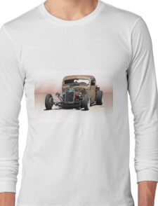 Rat Rod Pickup 'Hemified' Long Sleeve T-Shirt