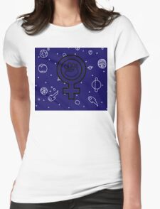 Cosmic Feminist  Womens Fitted T-Shirt