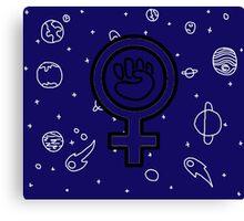 Cosmic Feminist  Canvas Print