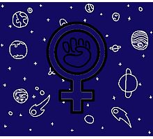 Cosmic Feminist  Photographic Print