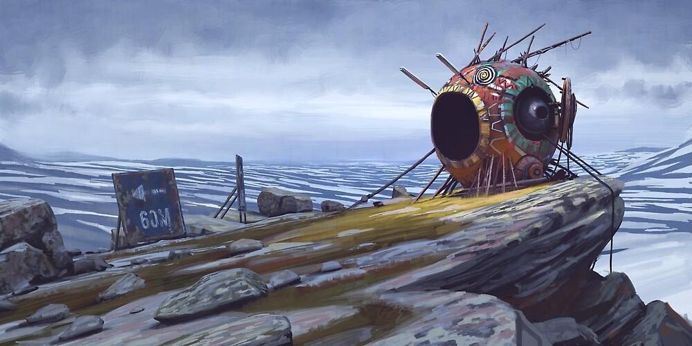 The Course One by Simon Stålenhag