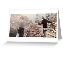 Life is Strange Rail Road Greeting Card