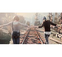 Life is Strange Rail Road Photographic Print