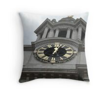 Old London Town Throw Pillow