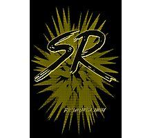 SR Wrestling Ninja Photographic Print