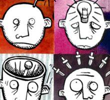 Headaches Sticker