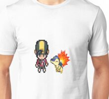 Johto and Cyndaquil (HGSS) Unisex T-Shirt