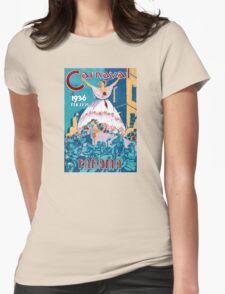 Panama Carnival Vintage Travel Poster Restored T-Shirt