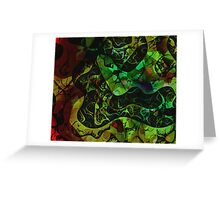 Abstract DM 03 Greeting Card
