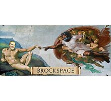 The Creation of Brock Photographic Print