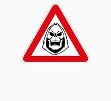 Skeletor Warning Sign T-Shirt