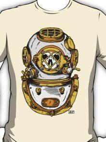Diving Helmet T-Shirt