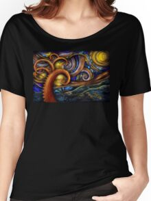 Steampunk - Starry night Women's Relaxed Fit T-Shirt