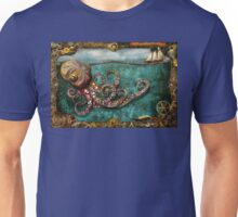 Steampunk - The tale of the Kraken Unisex T-Shirt