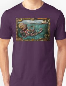 Steampunk - The tale of the Kraken T-Shirt