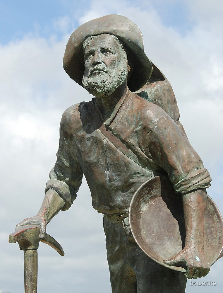 ''Gold Prospector'' Palmer River Goldrush. by bowenite
