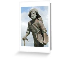 ''Gold Prospector'' Palmer River Goldrush. Greeting Card