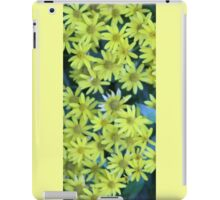 Yellow Blossoms Collection iPad Case/Skin