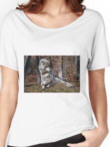 Alpha Pair Women's Relaxed Fit T-Shirt