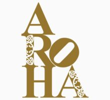 Aroha (love) for the people by clockworkshirts
