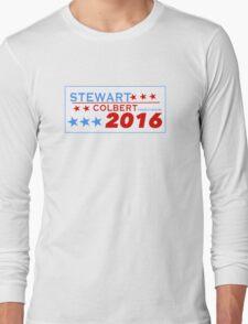 Stewart/Colbert 2016 Long Sleeve T-Shirt