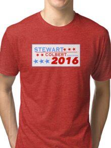 Stewart/Colbert 2016 Tri-blend T-Shirt