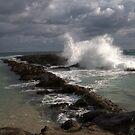 Waves At Point Danger by spiritoflife