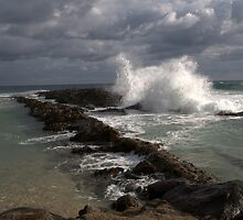 Waves At Point Danger by spiritoflife