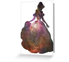 Cosmic Belle Greeting Card