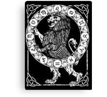 Zombstrology: Leo Canvas Print
