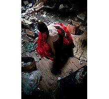 Red Dress Affair Photographic Print