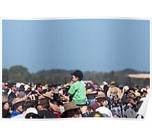 rising above the crowd Poster