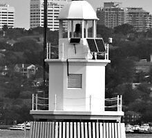Sydney Harbour Navigation Light by Janie. D