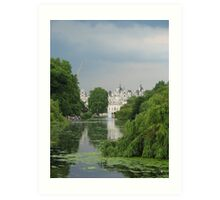 Horse Guards from St James Park Art Print