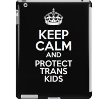 Protect Trans Kids iPad Case/Skin