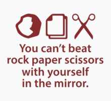 You Can't Beat Rock Paper Scissors by AmazingVision